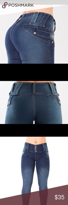 Colombian Jeans - Jeans Colombianos Levanta Cola Jeans that make your butt and thighs look AMAZING! Authentic 100% Made in Colombia LOI Jeans Skinny
