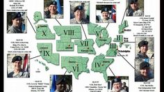 "US Military Controls the So-Called ""FEMA Regions"", Not Federal Directors  DAHBOO777  Published on Apr 21, 2015 I want to point out that all tho these regions are called FEMA Regions, they are totally controlled by US Military at the Top! If these were FEMA Regions, They should all be headed by Fema Directors or managers. THEY ARE NOT!  They are ALL Headed by Military. watch video"