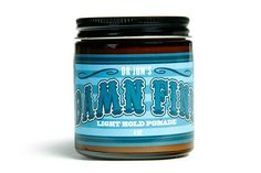 "Dr. Jon's ""Damn Fine"" Light Hold Vegan Pomade 4oz Jar"