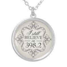 I Still Believe in 398.2 Fairy Tale Library Love Personalized Necklace