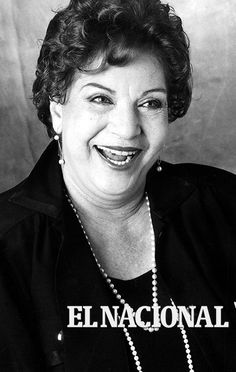 Amalia Pérez Díaz, actriz venezolana . (ARCHIVO EL NACIONAL)