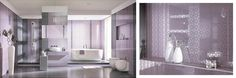 Colectia de gresie si faiantaPiumetta Lila- eleganta si romantism Decor, Bathtub, Lighted Bathroom Mirror, Light, Furniture, Home Decor, Mirror, Bathroom Lighting, Bathroom