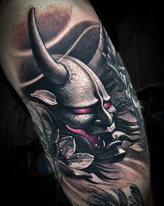 Oni Tattoo, Tattoos, Japanese, Fictional Characters, Art, Animals, Instagram, Art Background, Tatuajes