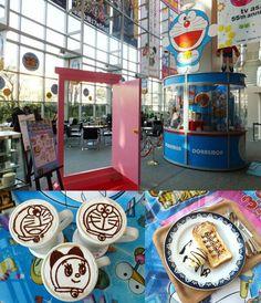 doraemon cafe in TV Asahi, Japan