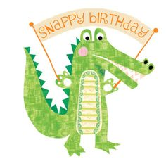 Louise Anglicas - LAS_crocodile Birthday