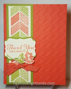 Heart's Delight Cards: Super Simple Thank You Oh Hello