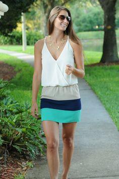www.SHOPSIMPLYME.com     SHIPS AHOY Nautical Navy Green White Sun Dress Shop Simply Me Boutique – Simply Me Boutique