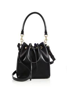 eee59cf28f18 Salvatore Ferragamo - Sansy Leather Bucket Bag