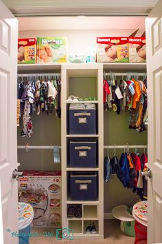 Need to do this with all of our closets.