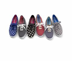 5e73543ec3b Get spotted in these pretty polka dots.  shoesdaytuesday Trendy Womens  Sneakers