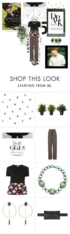 """""""forever"""" by jongi-n ❤ liked on Polyvore featuring Timorous Beasties, COII, Mon Cheri, Emanuel Ungaro, RED Valentino, Isabel Marant, Off-White and Gucci"""