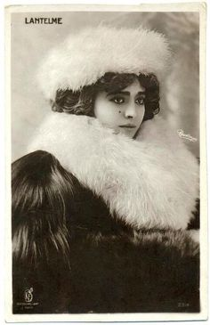 Geneviève Lantelme-French actress, socialite and courtesan, best known as the mistress of Alfred Edwards.