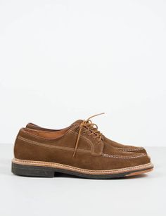 Alden for The Bureau Belfast Snuff Suede Moc Toe