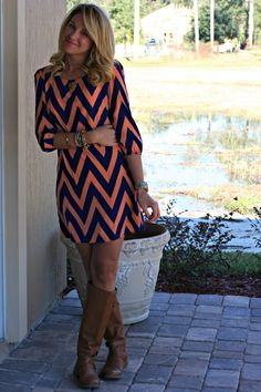 Just Dandy by Danielle: Outfit | Chevron