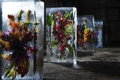 Cultura, arte y diseño mexicano | Inkult Magazine – Makoto Azuma | Flores congeladas