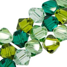 5328 6mm Swarovski Elements Crystal Mix - Clover