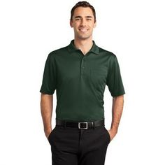 CORNERSTONE SELECT SNAG-PROOF POCKET POLO. Great high performance polo for your employees. #tradeshowgear #onetouchpoint #promotional