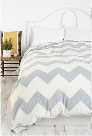 large grey chevron bedding - lit Lou. Probably a little too girly for McG.