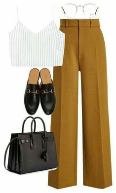 Outfits Are you looking for stylish and trendy outfits?de is the leading Online St Mode leading Mode inspo NYBBde online outfits Stylish trendy Black Women Fashion, Look Fashion, Fashion Pants, Fashion Outfits, Womens Fashion, Spring Fashion, Fashion Clothes, Feminine Fashion, Trendy Fashion