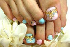 Princess toes