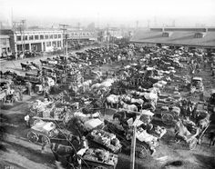 ca. 1900)*# - View of the Los Angeles Produce Market as it appeared at the turn of the century.