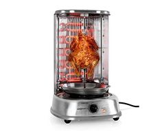 Kebab Master HornoGrill vertical oneConcept  1800W Acero Inoxidable