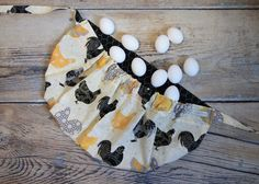 Egg Gathering Aprons are a must for every backyard chicken farmer! Find it here on my Etsy shop https://www.etsy.com/listing/275333822/egg-gathering-apron-egg-apron-gathering