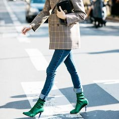 Our editor had ditched her skinny jeans until she encountered this pair. Find out why she's endorsing them, here.