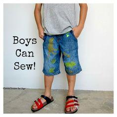 Refashioning - Boys Can Sew