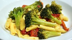 John's wife Liz took an old Food Network recipe and made some tweaks to make it her own, delicious reinvention. Ingredients 4 tablespoons EVOO 3 cloves chopped garlic 3 cups broccoli florets 1 cup sun-dried tomatoes sliced Salt 1/2 teaspoon red pepper flakes or to taste 1 1/2 cups canned chicken broth 1 pound cavatelli, …