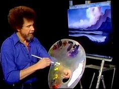 Bob Ross - Painting Wave - Painting Videos