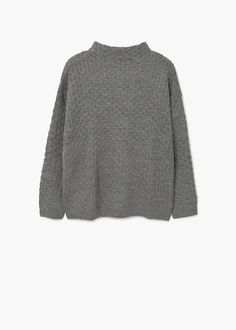 Pull-over col cheminée | MANGO
