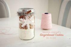 DIY Gingerbread in a Jar