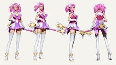 "Hey !  Fan art based on a design by Paul Kwon for League of Legends - Lux's Star Guardian Skin https://www.artstation.com/artwork/star-guardian-lux-official-concept-art  Modeling in Maya&Zbrush Rendering in ZBrush  Wanted to try to set myself a deadline to create a character from the beggining to the end, so here's what I could do in 4 ""work days"".  Comments and Critics always welcome.  Cheers !"