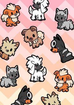 pokemon houndour and poochyena Rockruff Pokemon, Ghost Pokemon, Pokemon Memes, Pokemon Fan Art, Pokemon Kalos, Nintendo Pokemon, Pikachu, Chibi Dog, Pokemon Photo
