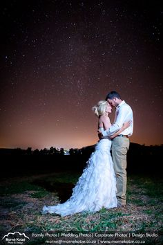 Loving couple starring deeply into each others eyes below the stars in a farm field in the majestic Drakensberg region. #bride #groom #weddingcouple #justmarried #wedding #weddingphotography #weddingphotographer #weddinginspiration #beautifulbride Please like and repin. Also visit my website above for more photos and have a look at what I do. Please go and follow and like me on Facebook and Instagram Love Couple, Just Married, More Photos, Wedding Couples, Beautiful Bride, Bride Groom, Wedding Inspiration, Wedding Photography, Facebook