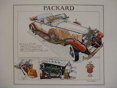 1930 Packard Dual Cowl Phaeton by Ken Dallison