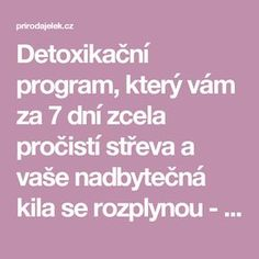 Kili, Program, Detox, Life Is Good, Health Fitness, Beauty, Skinny, Lifestyle, Decoration