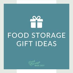 Ideas for the preparedness-minded people in your life. Food storage gifts are useful  sc 1 st  Pinterest & 15 best Food Storage Gift Ideas images on Pinterest | Emergency ...