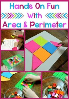 Teaching ideas 470063279838272961 - Hands on Fun with Area and Perimeter – Check out these teaching ideas to plan a hands on lesson about area and perimeter that's sure to be lots of fun! Source by morethanaworksheet Math For Kids, Fun Math, Math Games, Math Activities, Measurement Activities, Math Measurement, Steam Activities, Teaching Math, Teaching Ideas