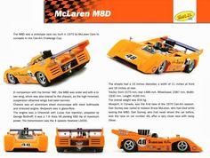 it McLaren Can-Am Mosport Dan Gurney Slot Cars, Race Cars, Bruce Mclaren, Dan Gurney, Mclaren Cars, Challenge Cup, Can Am, Automotive Art, Fuel Injection