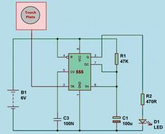 #TouchSensor with Circuit