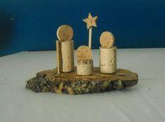 Cork Christmas Trees, Christmas Nativity Scene, Christmas Signs Wood, Childrens Christmas, A Christmas Story, Diy Christmas Ornaments, Christmas Art, Christmas Decorations, Nativity Scenes