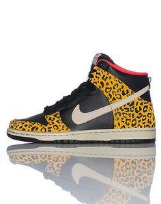 nike leopard print high top sneakers