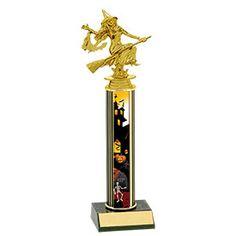 PERSONALISED HALLOWEEN BEST COSTUME PUMPKIN MEDAL /& RIBBON Fancy Dress Trophy