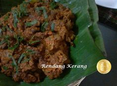 PATYSKITCHEN: RENDANG KERANG Seafood Soup, Seafood Recipes, Malay Food, Soups, Beef, Meat, Seafood Bisque, Soup, Ocean Perch Recipes