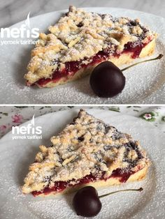 Cherry Pie - Yummy Recipes - # 5669504 - How to Make Cherry Pie Recipe? Here is a picture of the Cherry Pie Recipe in the book of peop - Pie Recipes, Cooking Recipes, Yummy Recipes, Homemade Beauty Products, Coffee Cake, Snacks, Recipe Using, Breakfast Recipes, Cheesecake