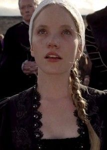 """The Executions of Katherine Howard and Lady Rochford: An Eye Witness Account"": http://www.theanneboleynfiles.com/the-executions-of-catherine-howard-and-lady-rochford-an-eye-witness-account/ IMAGE: Tamzin Merchant as Katherine Howard in the Showtime series 'The Tudors'."