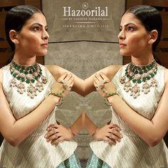 Throwback to #htstyleawards  Go green with envy with hazoorilalbysandeepnarang!  #hazoorilal #hlbysn #hazoorilaljewellersgk #jewellery #hazoorilalevents #styleawards #necklace #hazoorilalbysandeepnarang
