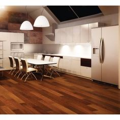 Hardwood floor refinishing is an affordable way to spruce up your space without a full replacement. Learn if refinishing hardwood floors is for you. Refinishing Hardwood Floors, Parquet Flooring, Wooden Flooring, Kitchen Flooring, Floor Refinishing, Parquet Merbau, Floor Rugs, Rugs On Carpet, Plank